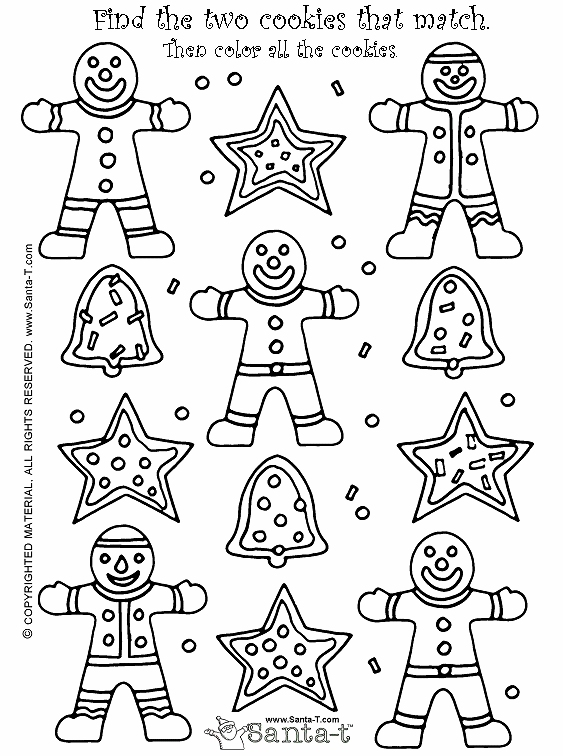 christmas coloring pages and games - photo#23